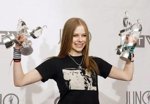 Avril Lavigne recibe 2 nominaciones a los Juno Awards 2020