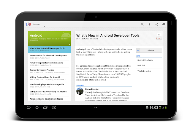 Google I/O 2013 App Source Code Now Available - DZone Mobile