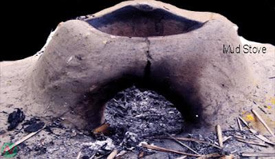 mud stove