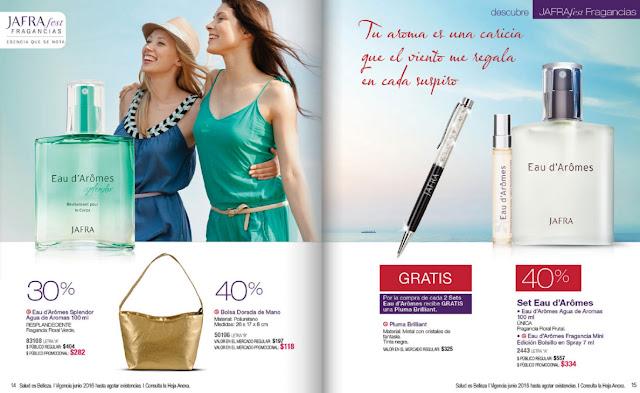 Jafra oportunidades catalogo junio México 2016