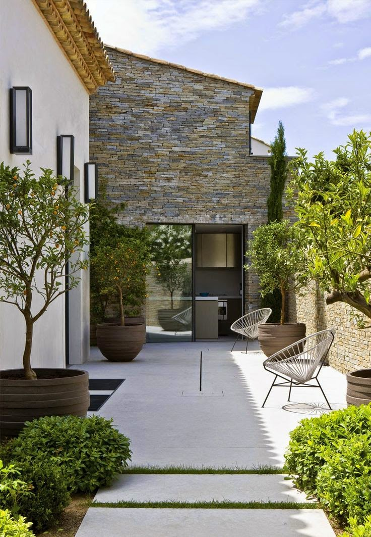 Le petit journal des jardins: Votre terrasse méditerranéenne