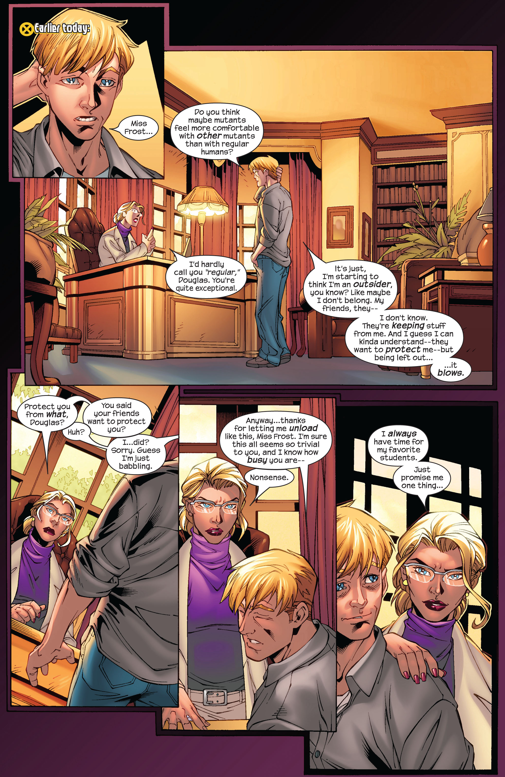Read online Ultimate X-Men comic -  Issue #75 - 28