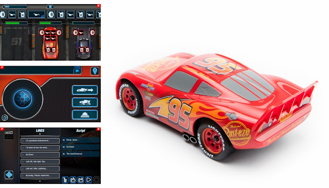 Ultimate Lightning McQueen app and side car images