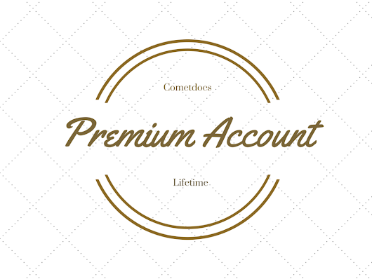 5 Lifetime Premium Accounts for Cometdocs : Giveaway