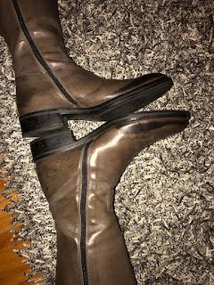paulus bolten, bottes femme patines