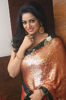 Udaya Bhanu lookssizzling in a Saree Choli at Gautam Nanda music launchi ~ Exclusive Celebrities Galleries 070.JPG