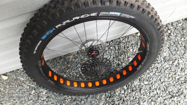 Fatbike Republic Fat Bike Rim Strip Upgrade Rim Strip Replace Duck Tape Newfoundland Snow Avalanche