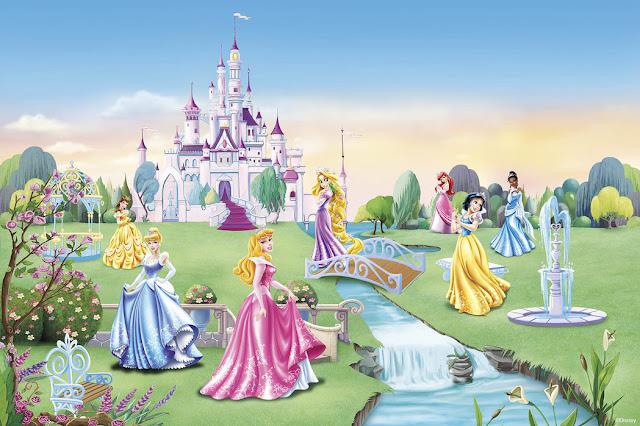 Disney tapetti prinsessa Lapset