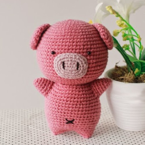 Crochet Pig Doll - Free Pattern