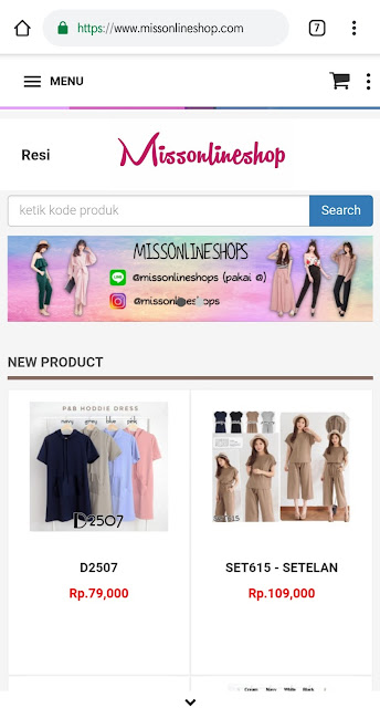 Situs Belanja Online - Missonlineshop 2018