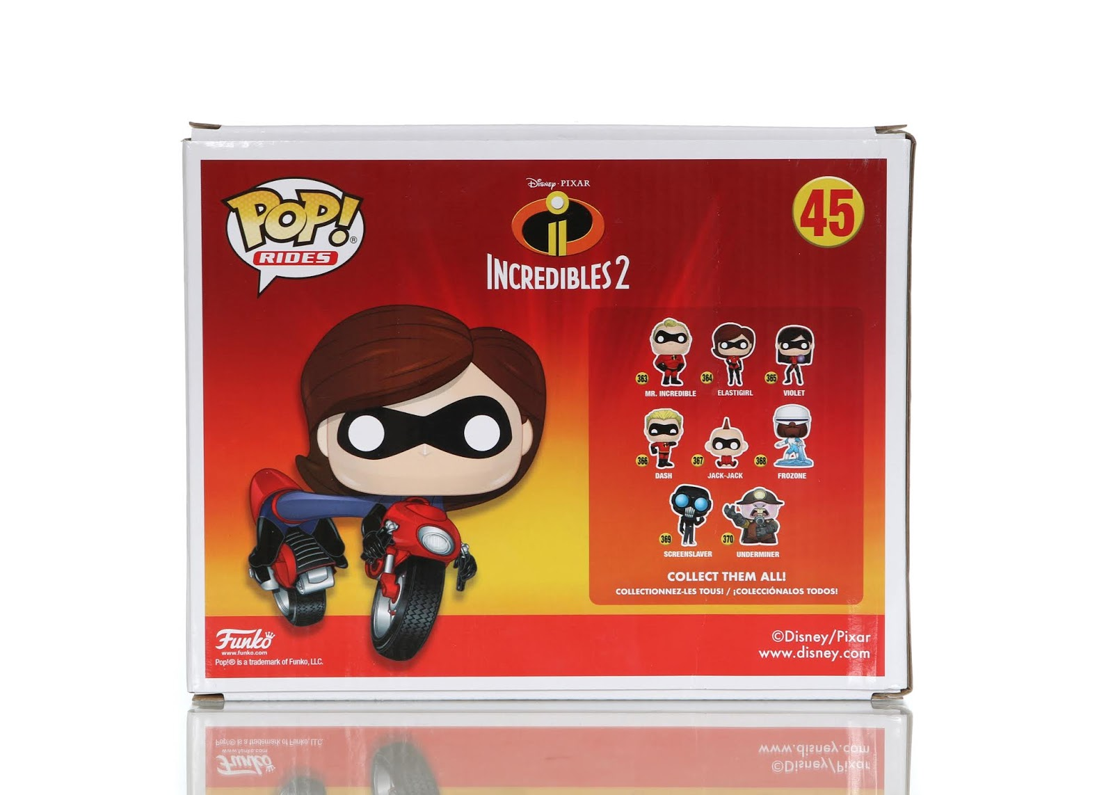"Incredibles 2 Funko POP! ""Rides"" Elastigirl on Elasticycle"