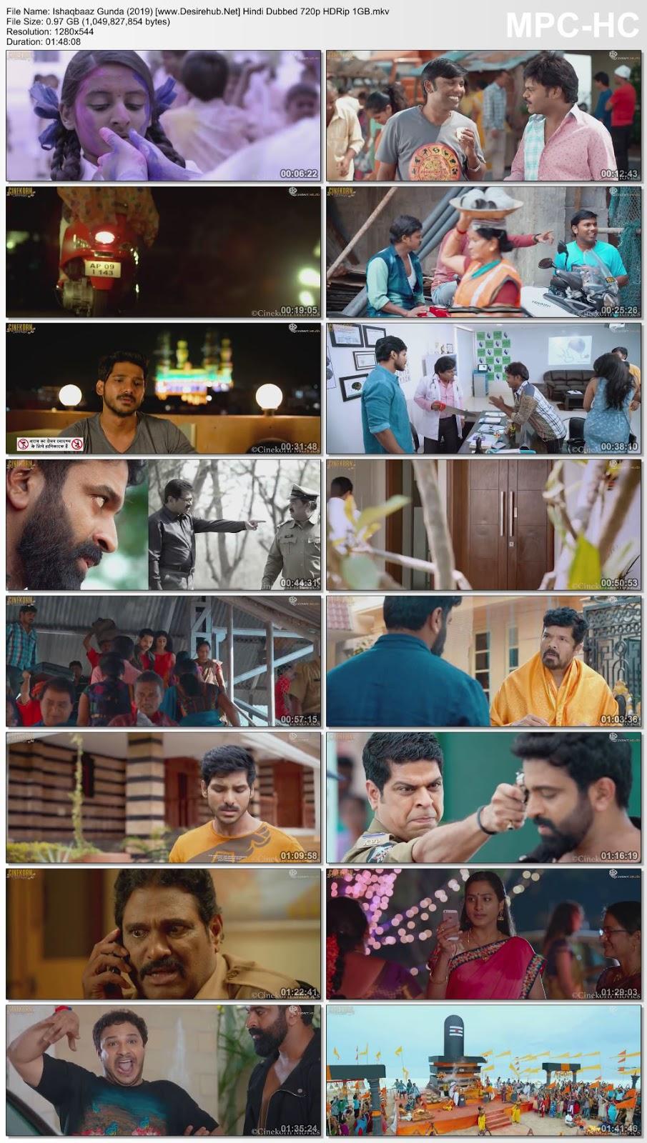 Ishaqbaaz Gunda (2019) Hindi Dubbed 480p HDRip 350MB Desirehub