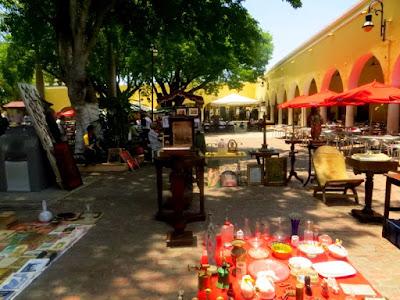 barrio santa lucía mérida yucatán