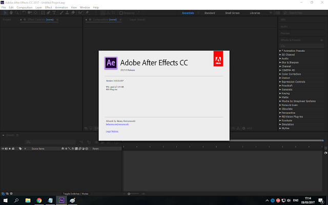 Adobe After Effects CC 2017 Full Version 1