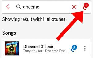 Search Your Favorite Hello Tune In Airtel Wynk Music App Hindi