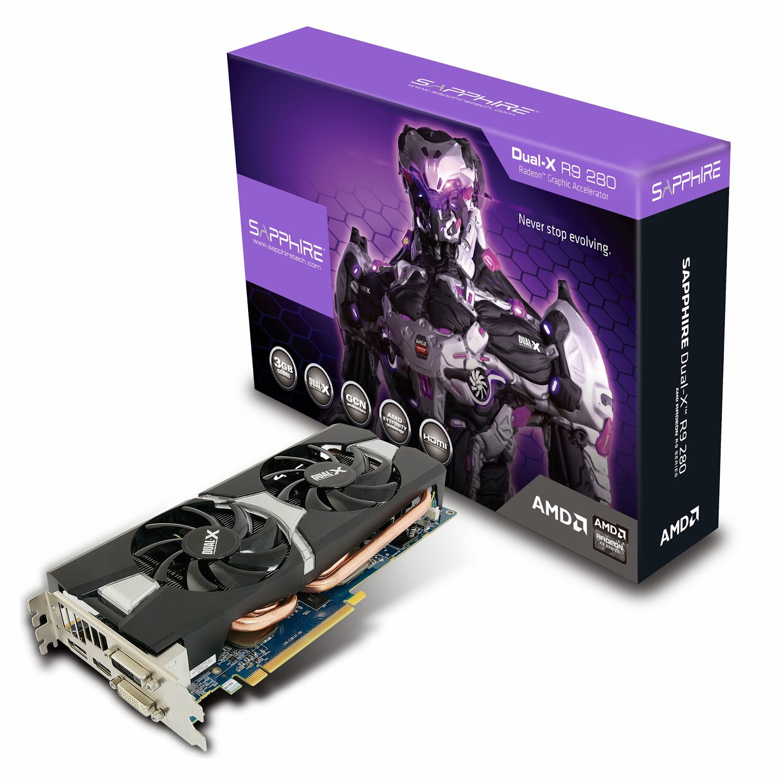 SAPPHIRE STRENGTHENS R9 GRAPHICS SERIES NEW R9 280 Dual-X and R9 280X Vapor-X models 1