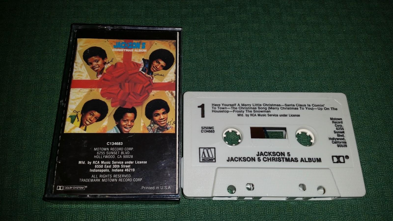 The Michael Jackson Showroom: JACKSON 5 : CASSETTES