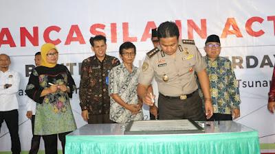 RRI Provinsi Banten Jalin Kerja Sama Dengan Polda Banten