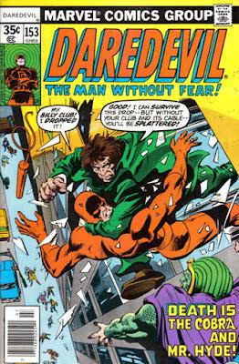 Daredevil #153, the Cobra and Mr Hyde