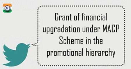 MACP Scheme in the promotional hierarchy