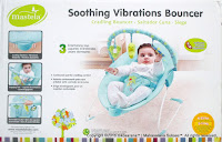 Baby Bouncher Mastela  Soothing Vibrations