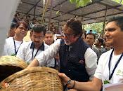 Amithab at jj hospital Maha Cleanathon-thumbnail-9