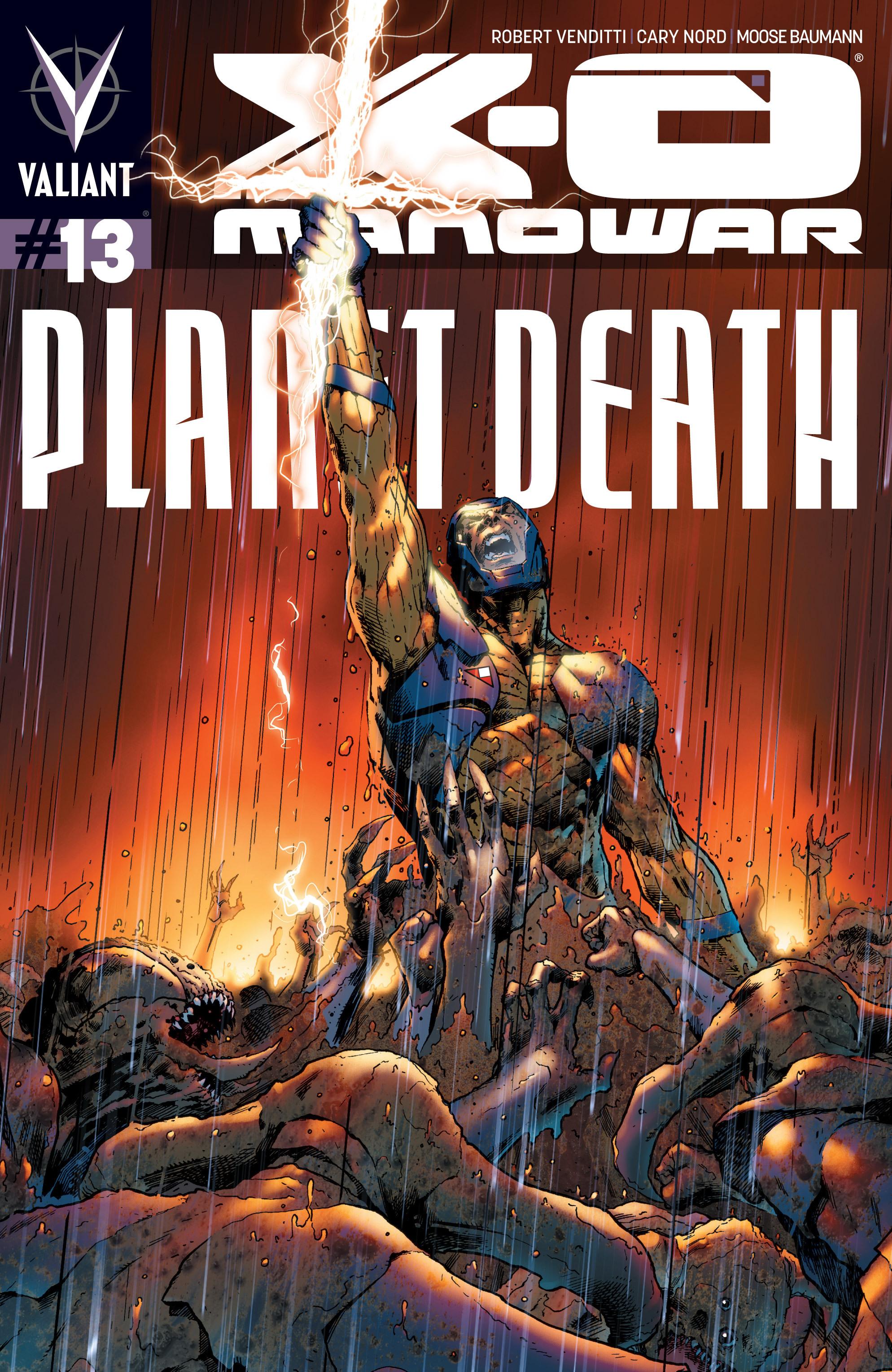 X-O Manowar (2012) 13 Page 1