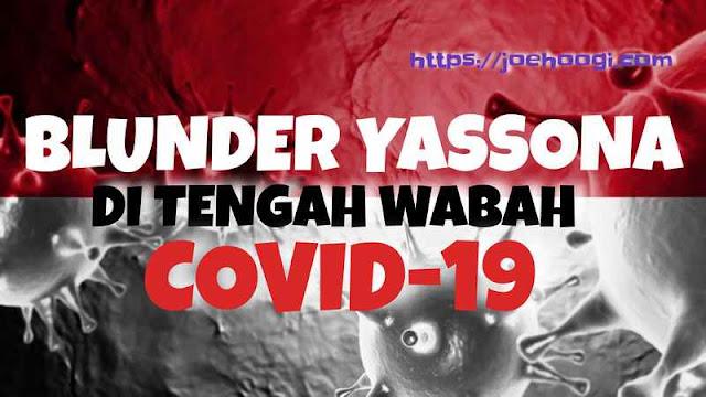 Blunder Yasonna Di Tengah Wabah Pandemik Covid-19