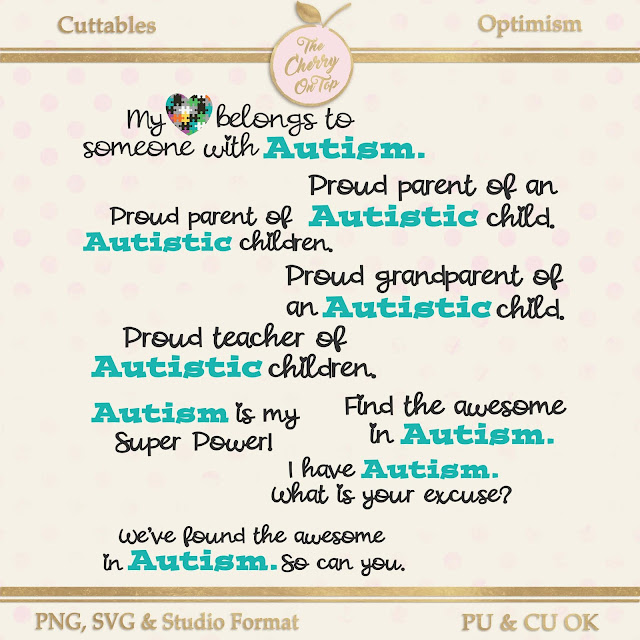 Autism Cuttables