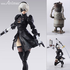 Figuras 2B & Machine set BRING ARTS NieR:Automata