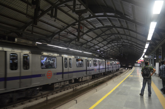 Kalkaji Metro Station. Delhi