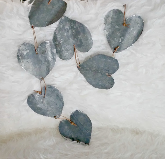 DIY Industrial Heart Garland
