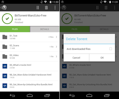 Tampilan Aplikasi uTorrent® Pro - Torrent App
