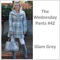 Sydney Fashion Hunter The Wednesday Pants #42 - Glam Grey