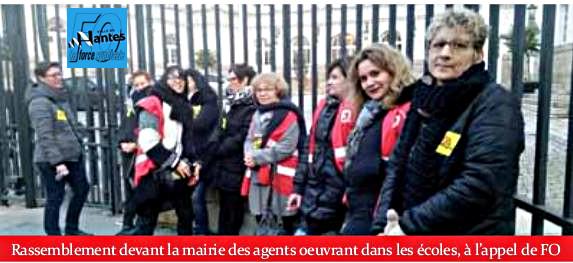 Fo Loire Atlantique Ville De Nantes Greve Victorieuse Des