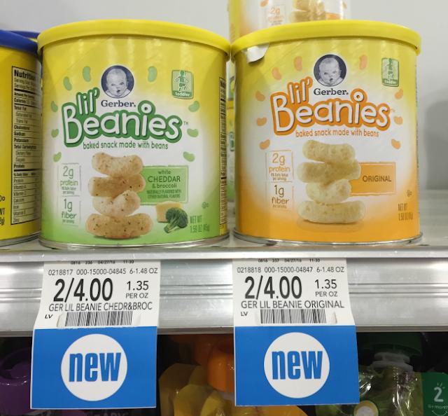 Gerber lil' Beanies Snacks