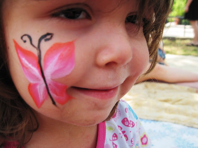 Simple Face Painting Designs For Beginners - Face Paint Ideas