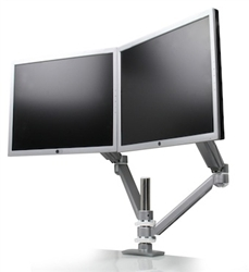 Dual Screen Monitor Mount at OfficeAnything.com