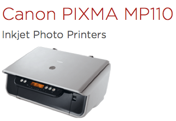 CANON MP110 PIXMA WINDOWS 10 DRIVER