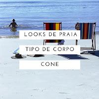 Looks de praia para cada tipo de corpo # 3 | Cone