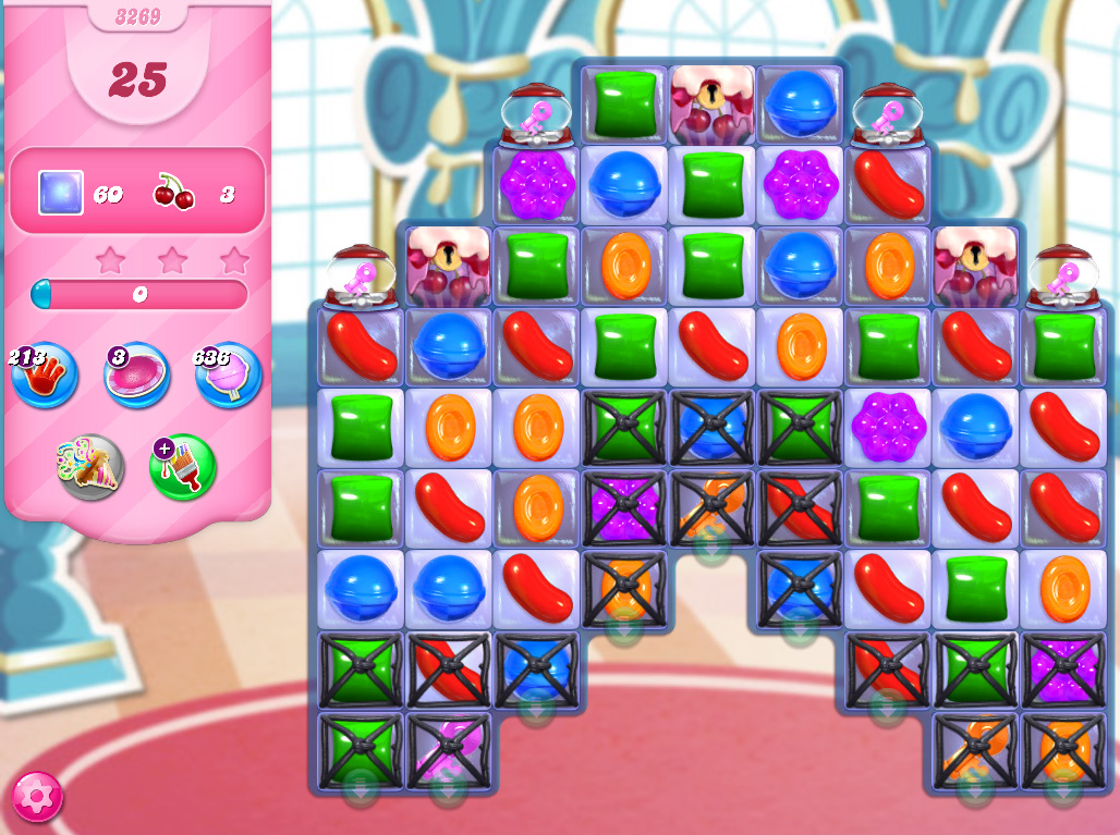 Candy Crush Saga level 3269