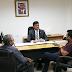 Secretário Rubens Pereira Junior recebe prefeito Arquimedes Bacelar