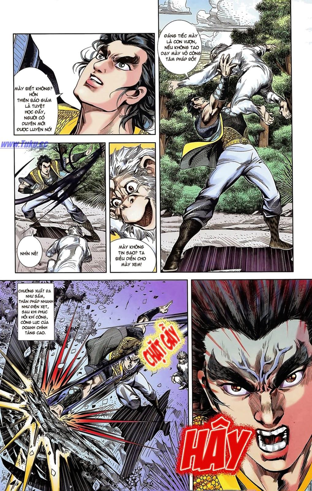 Tần Vương Doanh Chính chapter 15 trang 23