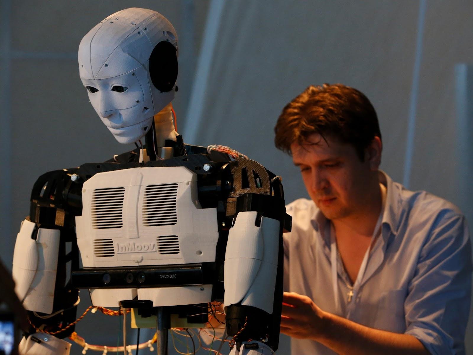 programadores para robots
