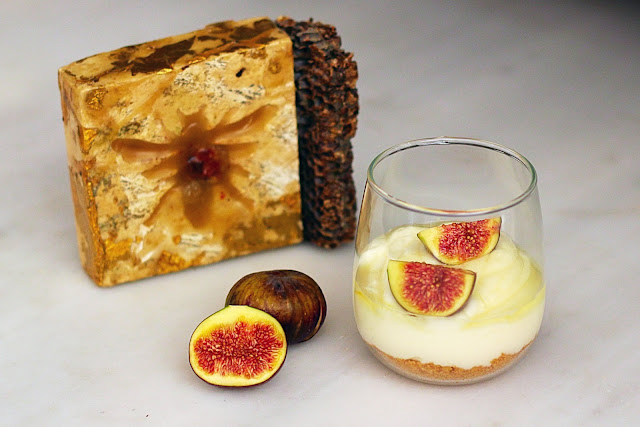 Cheesecake με Σύκα / Cheesecake with figs