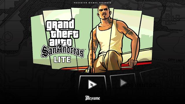 تحميل لعبة Gta San Andreas للأندرويد بحجم خيالي 200 MB فقط !! النسخة Lite الخفيفة ومع المودات