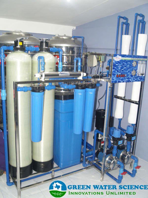 Green Water Science In Saudi Arabia Water Treatment