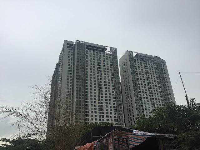 Chung cư Eco green city đã xây đến tầng nào?