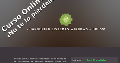 Curso Fortificación de Sistemas Windows