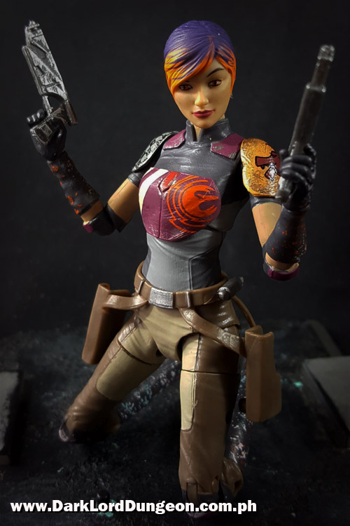 Star Wars Black Series Sabine Wren Action Figure Review